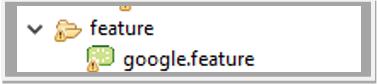 feature file